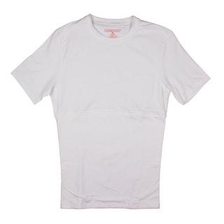 PowerBody Mens Back Support Slimming Shaping T-Shirt