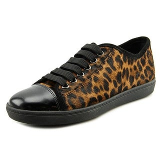 Tod's Sport Cassetta JL Allacciato Round Toe Leather Tennis Shoe