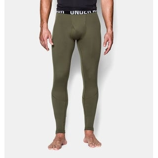 Under Armour Mens ColdGear Infrared Tactical Fitted Tactical Leggings Green - S