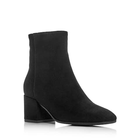 Aquatalia Womens Charlee Leather Closed Toe Ankle Fashion Boots