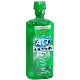 ACT Anticavity Fluoride Rinse Mint 18 oz
