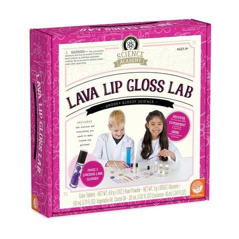 Science Academy - Lava Lip Gloss Lab