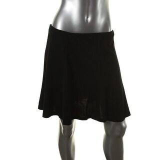 Polo Ralph Lauren Womens A-Line Skirt Knit Knee-Length