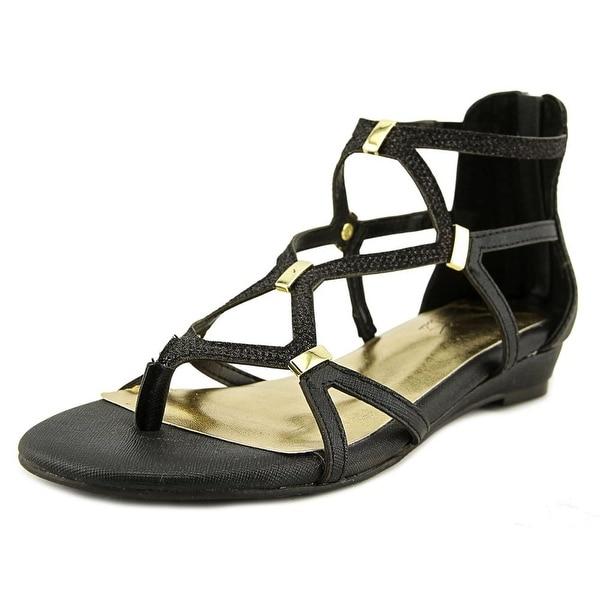 Thalia Sodi Pamella Women Black Sandals