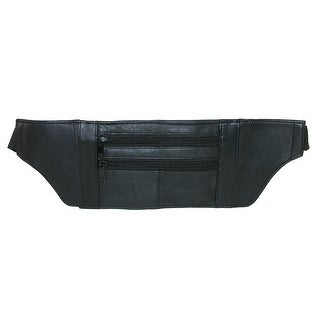 Marshal Leather Leather Undergarment Travel Security Pouch - One size