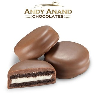 Andy Anand Belgian Milk Chocolate Oreo Cookie Gift Boxed
