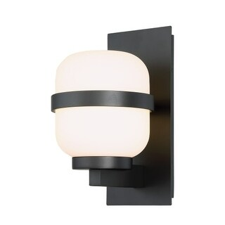 """WAC Lighting WS-W32712 Gaia Single Light 12"""" High Integrated LED Outdoor Wall Sconce"""