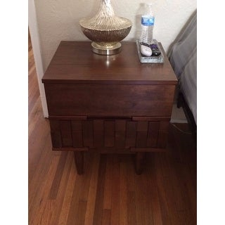 Carson Carrington Tessuto 2-drawer Night Stand