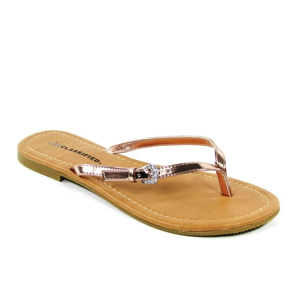 City Classified Women Squash Sandals