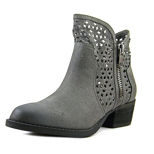 Etta Women Round Toe Canvas Ankle Boot