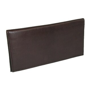 Link to Paul & Taylor Unisex Leather Checkbook Cover Wallet Similar Items in Wallets