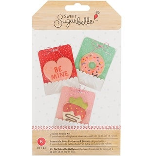 Sweet Sugarbelle Cookie Pouches 6/Pkg-We Go Together