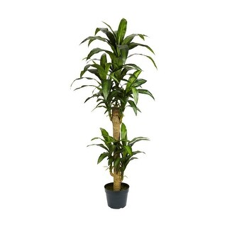 Nearly Natural 5' Yucca Silk Plant Green