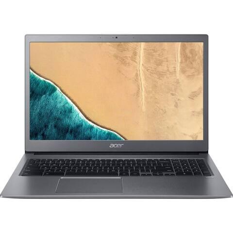 "Acer Chromebook 715 CB715-1WT-39HZ 15.6"" Touchscreen Chromebook - 1920 x 1080 - Core i3 i3-8130U - 4 GB RAM - 128 GB Flash Memo"