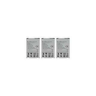 Link to Replacement For LG BL-41ZH Mobile Phone Battery (1820mAh, 3.8V, Li-Ion) - 3 Pack Similar Items in Cell Phone Accessories