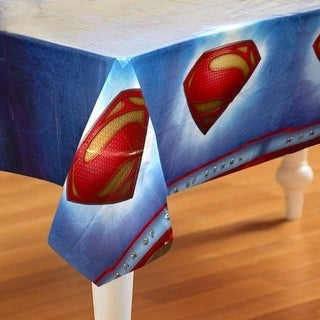 Hallmark 230342 Superman: Man of Steel Plastic Tablecover