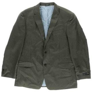 Tommy Hilfiger Mens Adams Wool Trim Fit Sportcoat - 44R