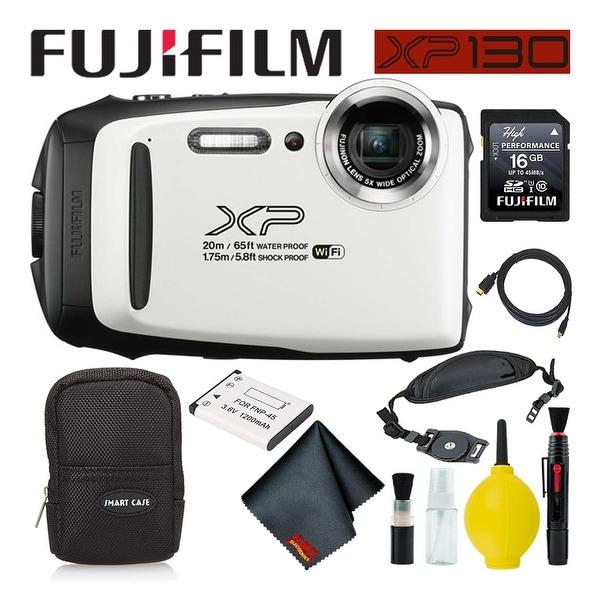 Fujifilm inePix XP130 Waterproof Digital Camera 600019827 (White) Best. Opens flyout.