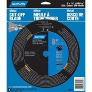 "Norton 07660789010 Cutting Wheel 8"", Aluminum Oxide"
