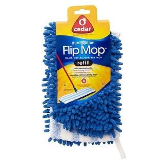 O-Cedar 132590 Dual-Action Microfiber Flip Mop Refill