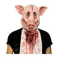 Psycho Pig Mask Adult Costume Mask
