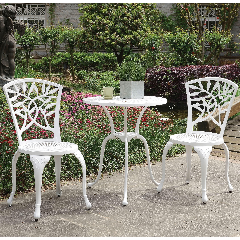Furniture of America Linz Transitional 5-piece Outdoor Bistro Set