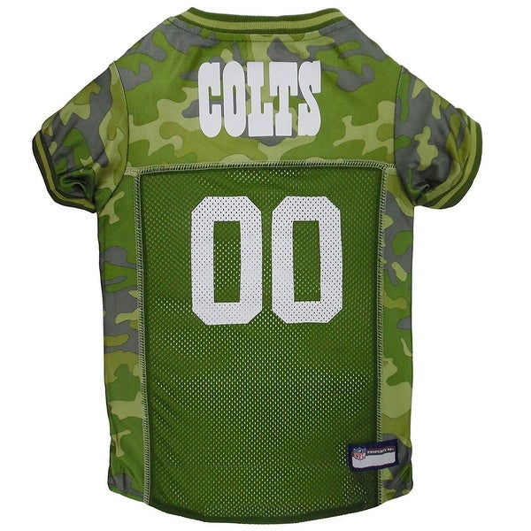 3427c09c Shop NFL Indianapolis Colts Camouflage Pet Jersey For Dogs & Cats ...