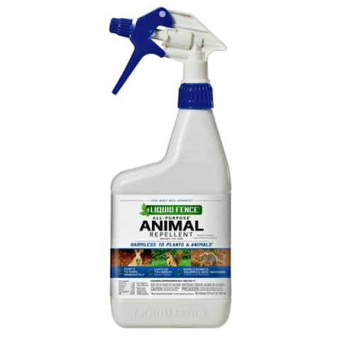 Liquid Fence HG-65007 All Purpose Animal Repellant Spray, Ready-To-Use, 1 Qt