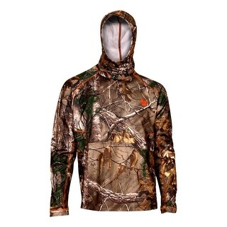 Rocky Outdoor Shirt Mens Athletic Mobility L/S Mask Realtree