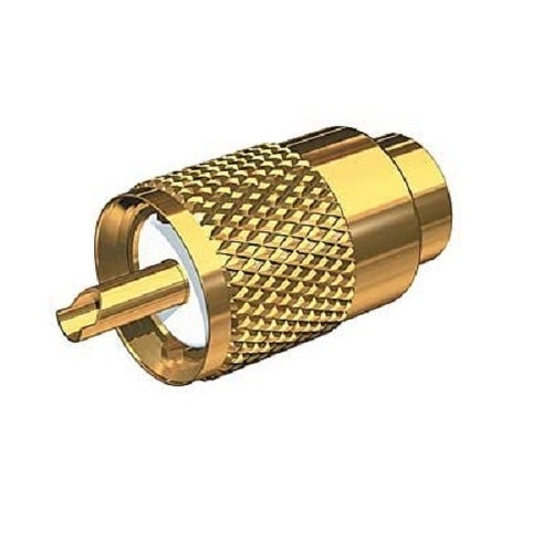 Gold Plated Pl-259 Connector W/Ug176