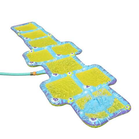 Banzai Aqua Blast Hopscotch Sprinkler Game