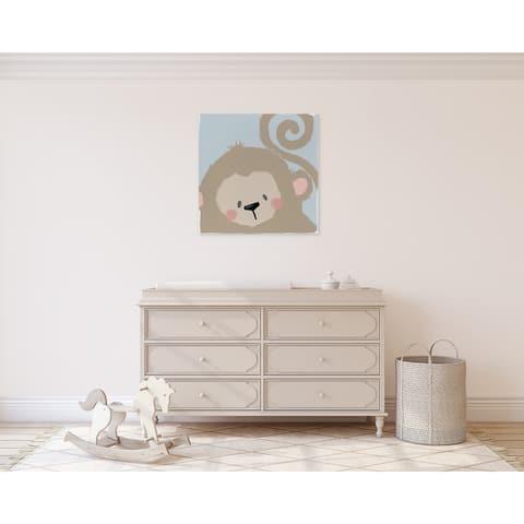 MONKEY Canvas Art By Kavka Designs