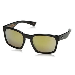 Carve Eyewear Special Sauce Shiny Black With Polycarbonate Gold Revo Lens
