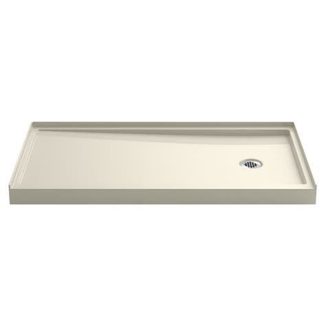 """Kohler K-8458 Rely 32"""" x 60"""" Shower Base with Single Threshold and Right Drain"""