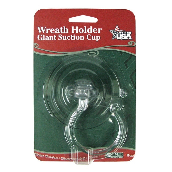 Adams 5750-88-1040 Suction Cup Wreath Holder, 10 lbs
