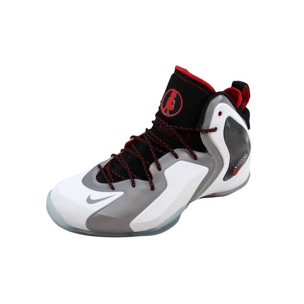 4c24a6ea8623a Shop Nike Men s Lil Penny Posite White Reflect Silver-Black-Chilling ...