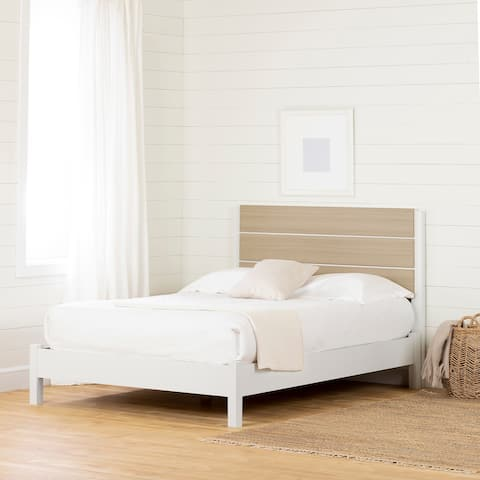 South Shore Munich Platform Bed with Headboard