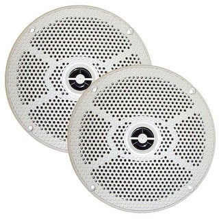 "Seaworthy Sea5632W Speakers 6.5"" 100 Watts 2-Way White"