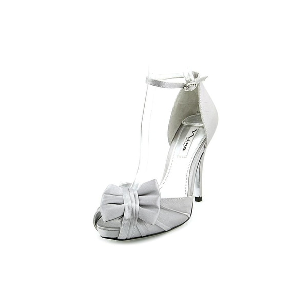 Nina Ella Womens Royal Silver Sandals