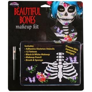 Skeleton Makeup Kit Beautiful - multi