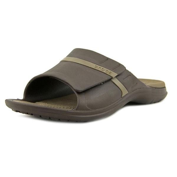 Crocs Modi Sport Slide Men Open Toe Synthetic Brown Slides Sandal