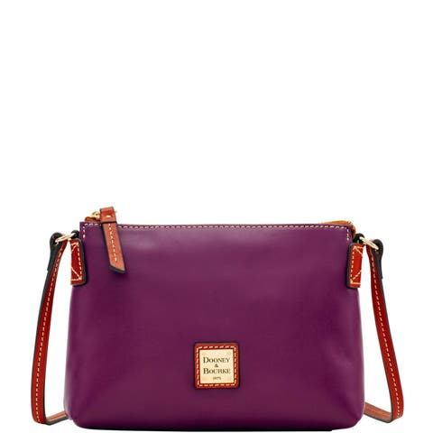 cdb6a400b9 Dooney & Bourke Wexford Leather Crossbody Pouchette Shoulder Bag  (Introduced by Dooney & Bourke in