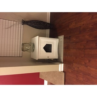 Trixie Wooden Cat House and Litter Box Enclosure