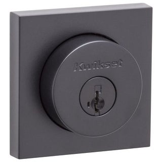 Kwikset 158SQT-S Halifax Single Cylinder Deadbolt with Smartkey Technology