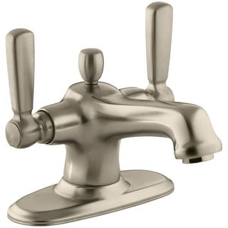 Kohler K-10579-4 Bancroft Single Hole Bathroom Faucet - Free Metal Pop-Up Drain Assembly with purchase