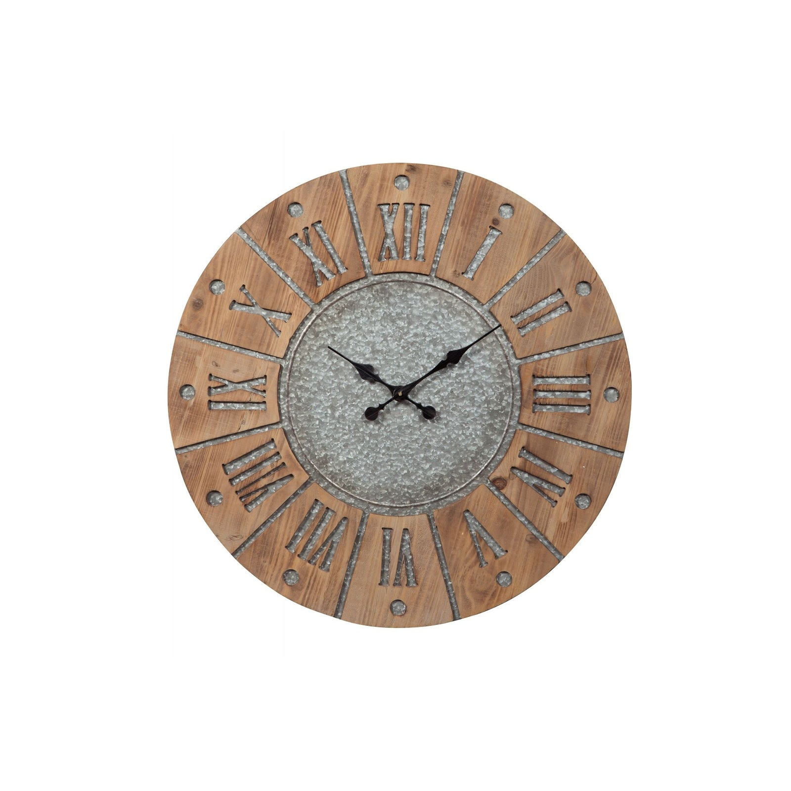Ashley Antique Gray Payson Wall Clock A8010076