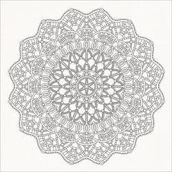 "Mandala - Ubud Dreams Spot Varnish Cardstock 12""X12"" (10/Pack)"