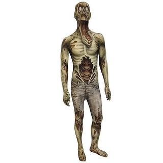 Zombie Morphsuit Costume Adult - Grey