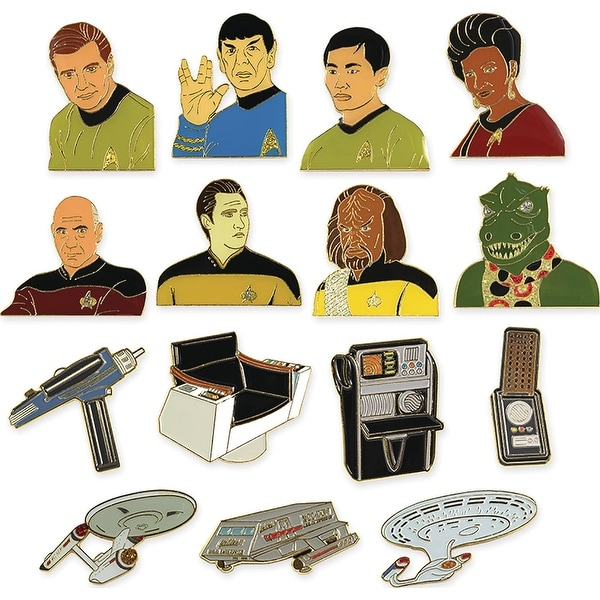 Star Trek Blind Packed Collectible Lapel Pin Random Case of 36 - multi