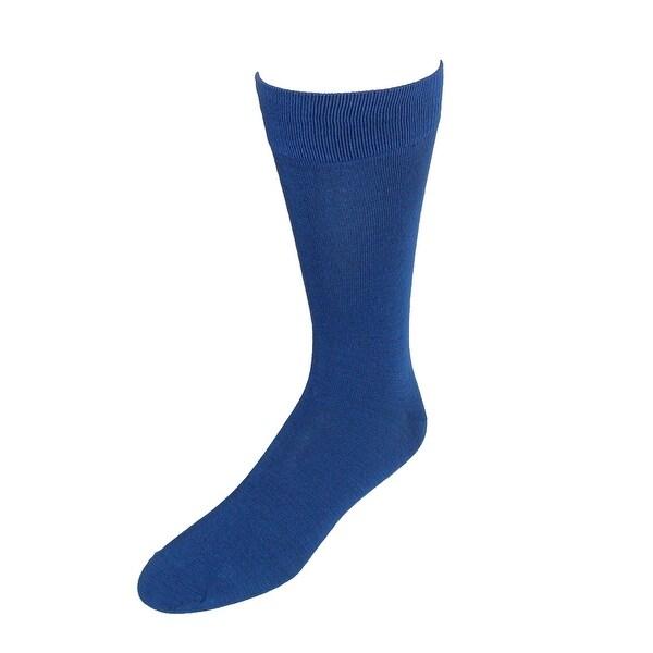 Feraricci Men's Solid Dress Socks